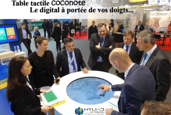 Tables tactiles rondes