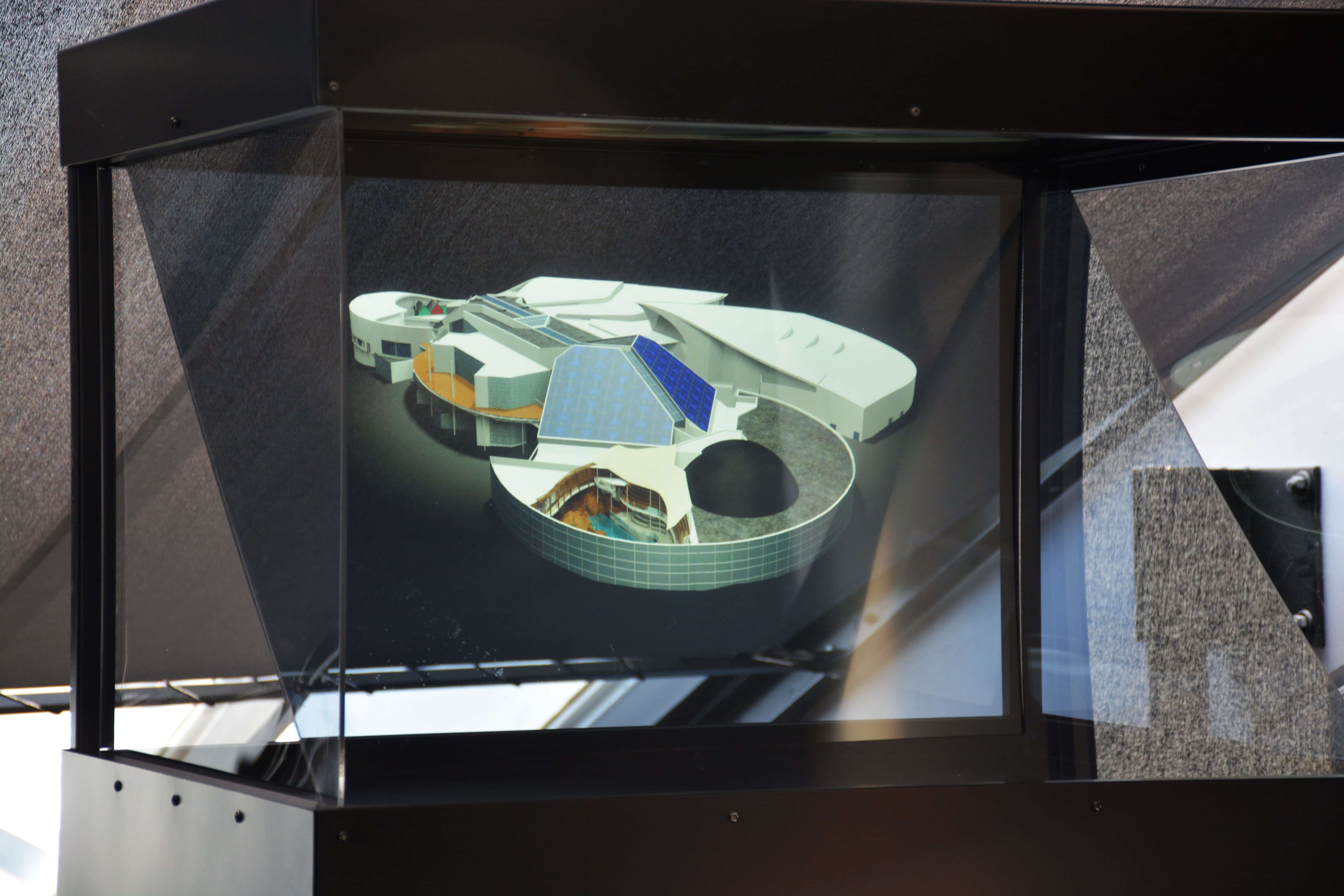 IRIS Holographic projector and 3D Holographic creation Holusion