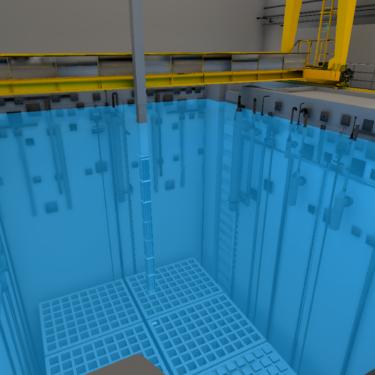 Vue piscine CNPE